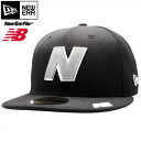 New balance x new era Cap gray logo black / grey New Balance×New Era Cap Gray (Grey) Logo Black/Gray (Grey)