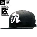 Lyosha the Skywalker x new era Cap white logo black / white Ryo The Skywalker×New Era Cap White Logo Black / White