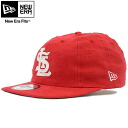 New era Panel 8 Cap linen Cooperstown collection St. Louis Cardinals Scarlet New Era 8Panel Cap Coopers Town Collection St.Louis Cardinals