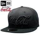 Coca-Cola x new era Cap color out soda series Coca-Cola Coke Black / Black Coca Cola×New Era Cap Color Out Soda Series Coca Cola Coke