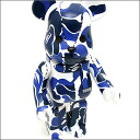 A BATHING APE (APE) xMEDICOM TOY NFS only 400% be @ rbrick ( be@rbrick ) BLUE