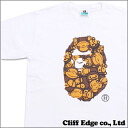 A BATHING APE NW20 Exhibition TEE Designed by MANKEY WHITE 200-005355-030 +