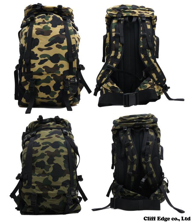 Cliff edge rakuten global market a bathing ape x porter for Bape x porter backpack