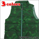 A BATHING APE COLOR CAMO DOWN VEST (vest) 226-000163-055 (1A30-140-011)-
