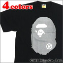 A BATHING APE LAME BIG APE HEAD TEE (T셔츠) 200-006169-052(1 A80-110-070)-