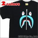 A BATHING APE SHARK TEE (T셔츠) 200-006177-040(1 A80-110-092)-