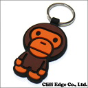 A BATHING APE (エイプ) MILO RUBBER KEY HOLDER (홀더) BROWN 278-000388-016 (2B20-182-074)-