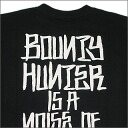 BOUNTY HUNTER (바운티 헌터) BXH IS A NOISE OF THE TOWN 티셔츠 BLACK
