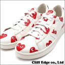 PLAY COMME des GARCONS x CONVERSE Heart Print Pro Leather Low [직업 가죽] WHITE 291-001323-320 +