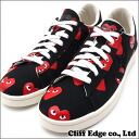 PLAY COMME des GARCONS x CONVERSE Heart Print Pro Leather Low [프로 레더] BLACK 291-001323-301+