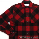 GANRYU COMME des GARCONS block shirt jacket RED 329-000023-053 +