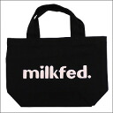 Milk fed.(미르크페드) 미니 토트 백 BLACKxLT.PINK277-000991-013