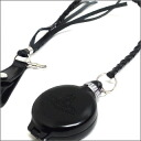 Vivienne Westwood (비비 안 웨스트 우드) 블랙 가죽 스트랩 Portable ashtray (휴대 재떨이) BLACK 290-000820-011-