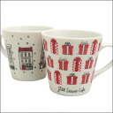 JILL STUART CAFE (질 스튜어트 카페) 크리스마스 머그잔 290-001739-010 290-001740-010x