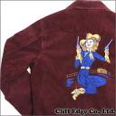 NEIGHBORHOOD (neighborhood) COWGIRL/C-JKT (jacket) BURGUNDY 224-000066-000-