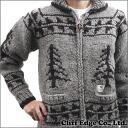 NEIGHBORHOOD (neighborhood) KANATA. EAGLE/W-COWICHAN (Cowichan knits) GRAY 229-000115-000-