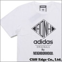 NEIGHBORHOOD (네이버 후드) x adidas Originals (아디다스 オリジナルス) NH SSL TEE2 (T-셔츠) WHITE 200-006398-040-
