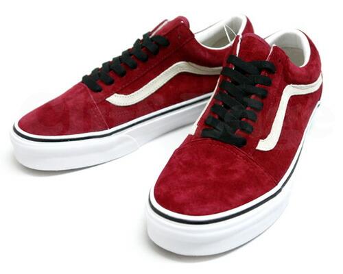 old red vans