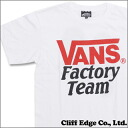 STANDARD CALIFORNIA x VANS FACTORY TEAM TEE (T셔츠) WHITE 200-006229-030 x