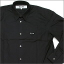 PLAY COMME des GARCONS (컴 드 르 손) 원 포인트 하트 티셔츠 BLACK