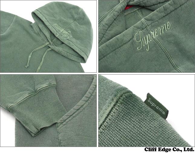 supreme over dyed pullover 211. Black Bedroom Furniture Sets. Home Design Ideas