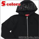 SUPREME (슈 프림) Hooded Foil Logo Zip Up (지퍼 후드) 212-000946-031x