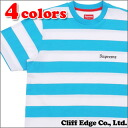 SUPREME (shupurimu) Old English Striped Top (T shirt) 203 - 000192 - 039x