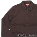SUPREME (shupurimu) Snap Front Shop Jacket (jacket) BROWN 228 - 000119 - 146x