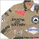 SUPREME (shupurimu) x Thrasher (Thrasher) 230-000888-056 TAN Work Jacket (jackets work) +