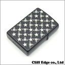 지금 아이 구입 금액 5, 000 엔 (세금 별도) 이상에서 배송 중!! (01/05) Vivienne Westwood STAR&ORB 모노 그램 ジッポライター BLACK 290-002733-011x