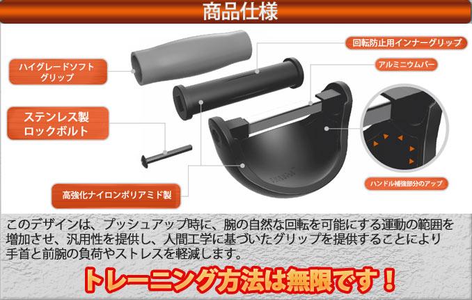 プッシュX3の商品詳細