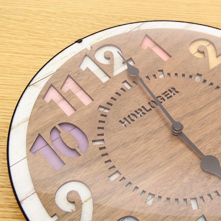 電波掛け時計 フォルリ