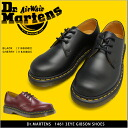 1461 doctor Martin Dr.MARTENS GIBSON 3EYE SHOES BLACK, 11838002 11838600 CHERRY RED Men's SIZE