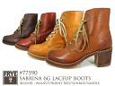 FRYE SABRINA 6 g LACEUP BOOTS 77590 BURNT RED, SUNRISE, WALNUT-SADDLE fly Sabrina 6 G lace-up boots 77590 バーントレッド Sunrise Walnut saddle ladies
