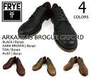 FRYE ARKANSAS BROGUE OXFORD SHOES 84140 / 84141 fly Arkansas brogue Oxford Shoes 84140 / 84141 mens black brown tan last