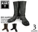 87350 87350 FRYE 12R HARNESS BOOTS CHARCOAL, BLACK, DARKBROWN fly harness boots charcoal black dark brown men
