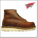 Red Wing REDWING 1907 RED WING 6-INCH MOC TOE BOOT COPPER Red Wing 6 インチモックトゥ boots copper rough & tough leather Redwing ◆