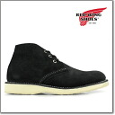Redwing RED WING 3147 WORK CHUKKA BLACK ABILENE SUEDE Red Wing work boots chukka ブラックアビリーン suede 3147 ◆