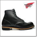 Red Wing REDWING 9014 BECKMAN BOOT 6 ROUND-TOE BLACK FEATHERSTONE Red Wing boots 9014 Beckman boots 6 inch round to black Featherstone ◆
