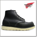 [] Red Wing REDWING 9075 MOC TOE CLASSIC BLACK モックトゥ classic black REDWING 9075 ◆
