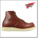 [] Red Wing REDWING 9106 6 inch CLASSIC MOC Dwidth COPPER モカシントゥ Irish setter 9106 D wise RED WING ◆