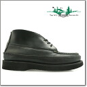 200-27 rale moccasins Russell Moccasin SPORTING CLAYS CHUKKA BLACK NAVIGATER スポーティングクレイチャッカブラックナビゲーター