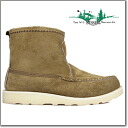 4070-7 rale moccasins Russell Moccasin TAN LALAMIE SUEDE KNOCK A-BOUT LARAMIE SUEDE BOOTS knock about suede boots tongue Laramie suede