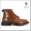 Trickers TRICKER's MALTON COUNTRY BOOT M2508 BEECHNUT ダイナイトソール country boots M2508 beach not dark brown Tricker's ◆