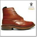 Trickers TRICKER's MALTON COUNTRY BOOT M2508 MARRON ANTIQUE country boots ダイナイトソール M2508 chestnut antique ◆