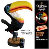 ギネスビール九官鳥フィギュア(非売品)