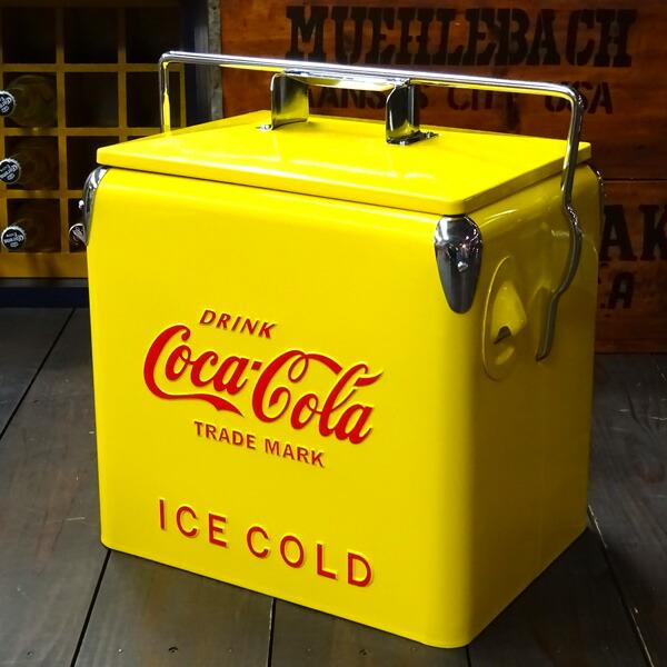 COCA-COLA BRAND コカコーラブランド レトロピクニックストレージボックス(レッド)