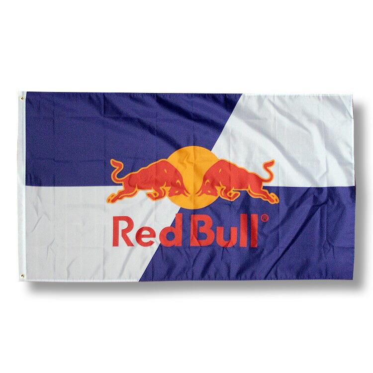 アメリカンフラッグ Red Bull (レッドブル) 【バーグッズ・旗・インテリア・アメリカン雑貨】