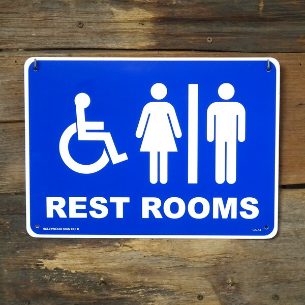 """""""厕所标志塑料留言板"""""""