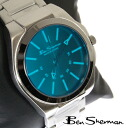 Ben Sherman Ben Sherman blue face watch mens 2013 new mod fashion stainless steel belt arm watches analog watches UK MOD r730